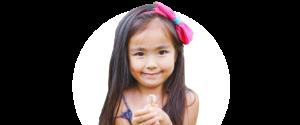 Little girl in Stuart, FL